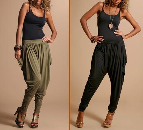 Harem-pants-Aladdin-pants-with-heels