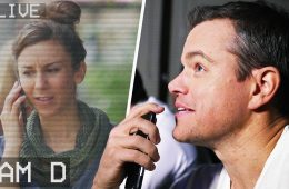 Matt Damon v rámci propagace nového filmu udělal špiony z lidí v parku