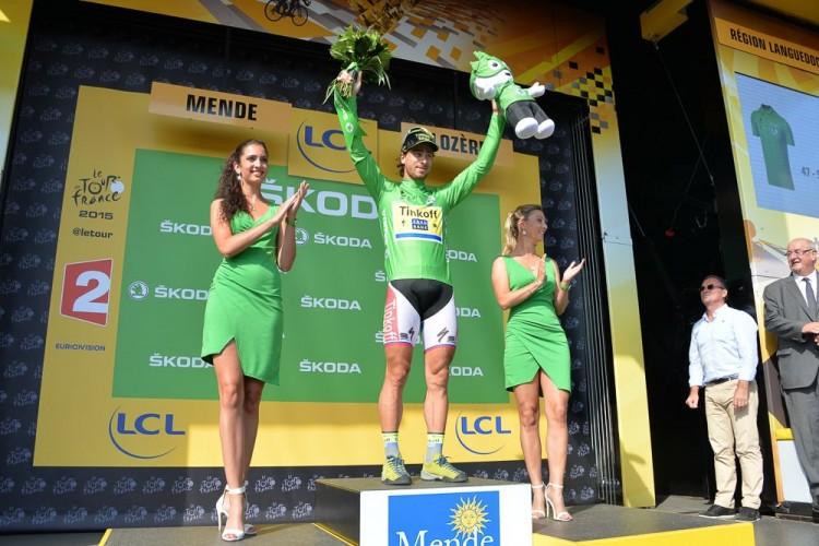 Tour de France 2015 - 18/07/2015 - 14ème Etape - Rodez / Mende - 178,5Km - Peter SAGAN (TCS) Maillot Vert